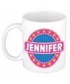Jennifer naam koffie mok beker 300 ml