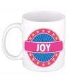 Joy naam koffie mok beker 300 ml