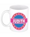 Judith naam koffie mok beker 300 ml