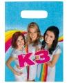 Plastic K3 snoepzak 8 stuks
