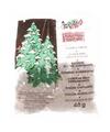 Kerstboom versiering glitter sneeuwvlokjes 40 gram