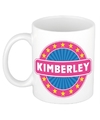 Kimberley naam koffie mok beker 300 ml