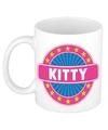 Kitty naam koffie mok beker 300 ml
