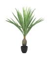 Kunstplant yucca groen in pot 120 cm
