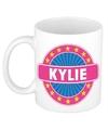Kylie naam koffie mok beker 300 ml
