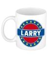 Larry naam koffie mok beker 300 ml