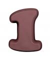 Siliconen bakvorm cijfer 1