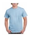 Licht blauwe team shirts voor volwassen