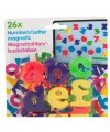 Magnetische alfabet letters