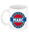 Marc naam koffie mok beker 300 ml