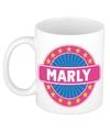 Marly naam koffie mok beker 300 ml