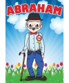 Deurposter Abraham