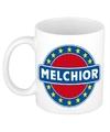 Melchior naam koffie mok beker 300 ml