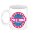 Melinda naam koffie mok beker 300 ml