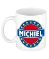 Michiel naam koffie mok beker 300 ml