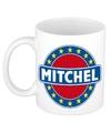 Mitchel naam koffie mok beker 300 ml