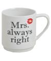 Mrs Always Right beker