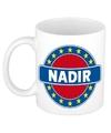 Nadir naam koffie mok beker 300 ml