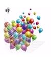 Net voor helium ballonnen 200 stuks