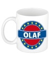 Olaf naam koffie mok beker 300 ml