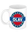 Olav naam koffie mok beker 300 ml