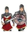 Opblaasbaar ridder zwaard en schild voor volwassenen