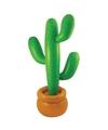 Opblaasbare mega cactus 170 cm
