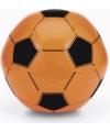 Strandbal oranje voetbal
