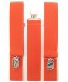 Voordelige oranje bretels