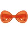Oranje grote feest brillen