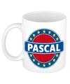 Pascal naam koffie mok beker 300 ml
