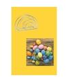 Pasen tafeldecoratie pakket geel gekleurd