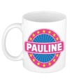 Pauline naam koffie mok beker 300 ml