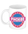 Phoebe naam koffie mok beker 300 ml