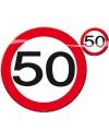 50 jaar placemats/onderzetters