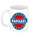 Raphael naam koffie mok beker 300 ml