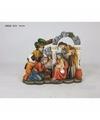 Religieus kerst beeldje 3 wijzen 14 cm