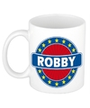 Robby naam koffie mok beker 300 ml
