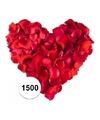 Rode rozenblaadjes 1500 stuks
