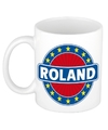 Roland naam koffie mok beker 300 ml