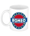 Romeo naam koffie mok beker 300 ml