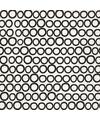 Servetten zwart wit cirkels 20 stuks