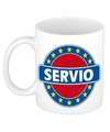 Servio naam koffie mok beker 300 ml