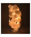 Sfeerverlichting witte hartjes in vaas
