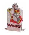 Sinterklaas jute zak van sinterklaas 60 x 102 cm