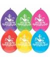 Sinterklaas sinterklaas ballonnen 10 stuks amerigo sint piet
