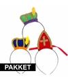 Sinterklaas sinterklaas intocht pakket voor 3 personen