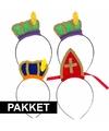 Sinterklaas sinterklaas intocht pakket voor 4 personen