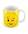 Smiley mok knipoog