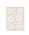 Sneeuwvlokken sjabloon 21 x 30 cm